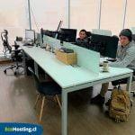Oficinas de EcoHosting en Santiago de Chile